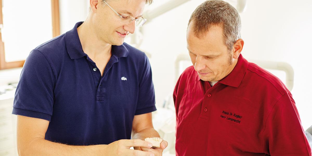 Zahnarztpraxis Kugler - DVT 3D-navigierte Implantologie 2