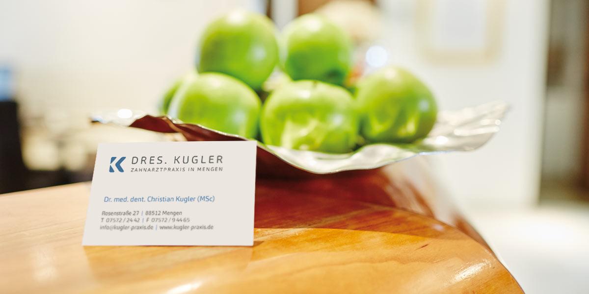 Zahnarztpraxis Kugler - Kontakt 1