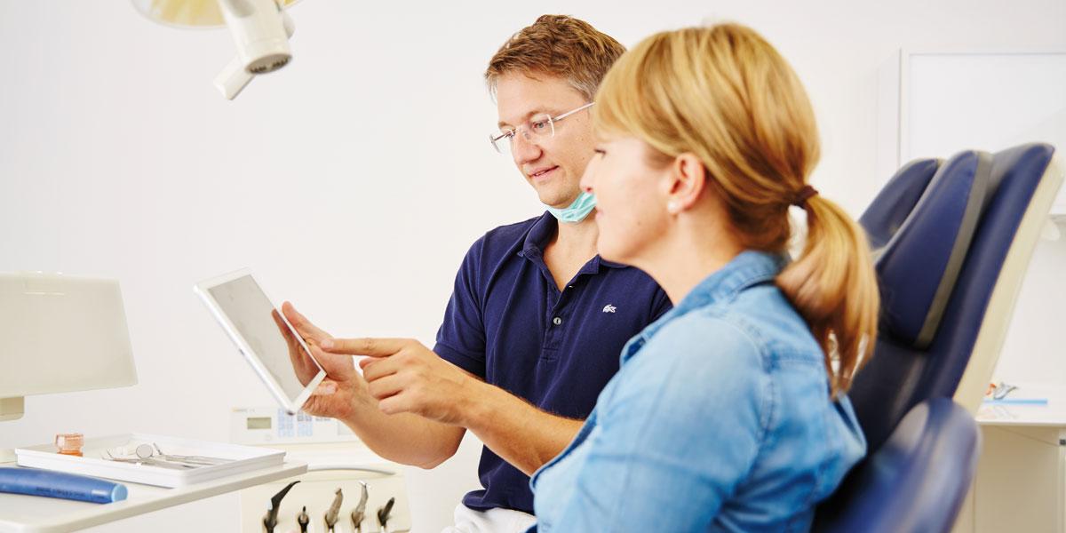 Zahnarztpraxis Kugler - Vollkeramische Restauration 2