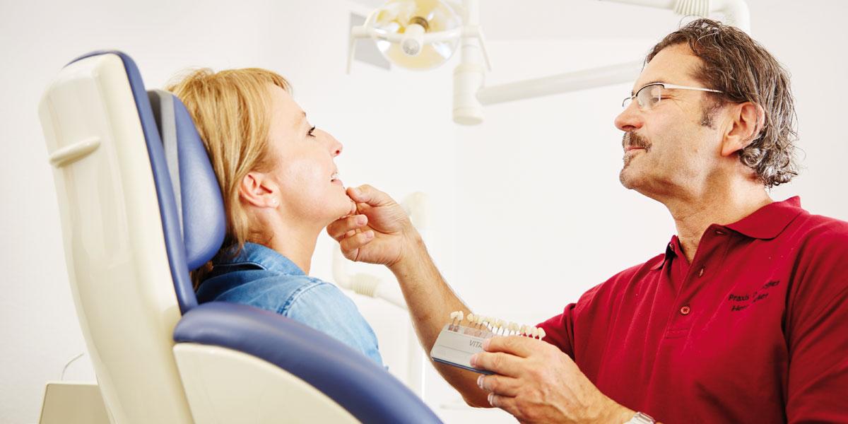 Zahnarztpraxis Kugler - Bleaching 1