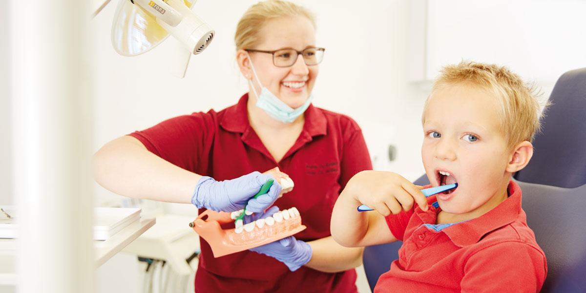 Zahnarztpraxis Kugler - Kinderzahnheilkunde 2
